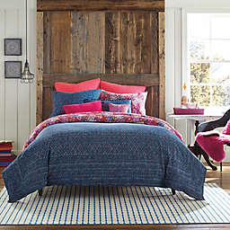 Happy Indigo Reversible Comforter Set