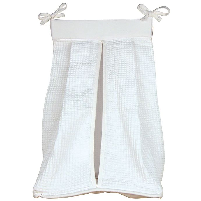 Trend Lab 174 Pique Diaper Stacker In White Buybuy Baby