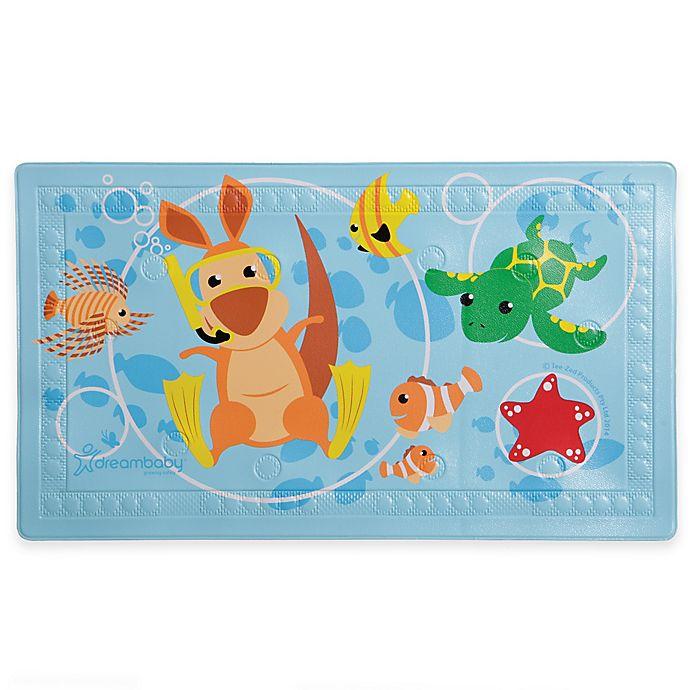 Alternate image 1 for Dreambaby® Heat Alert Anti-Slip Bath Mat with Too-Hot Indicator