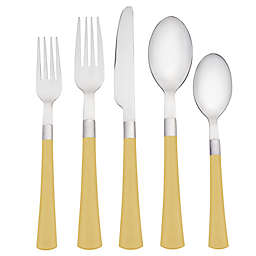 Noritake® Colorwave 5-Piece Flatware Place Setting in Mustard