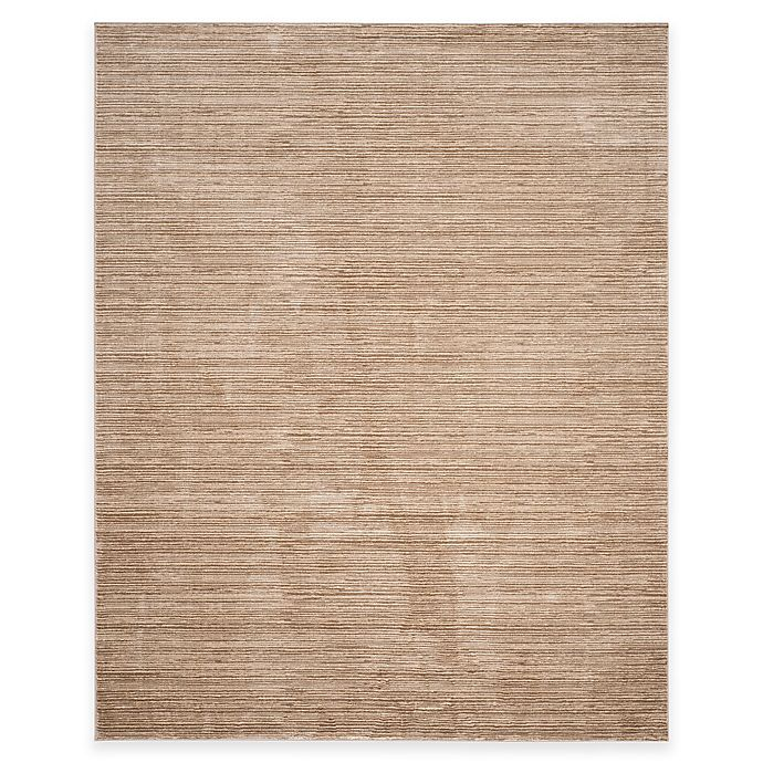 Alternate image 1 for Safavieh Vision 8-Foot x 10-Foot Area Rug in Light Brown