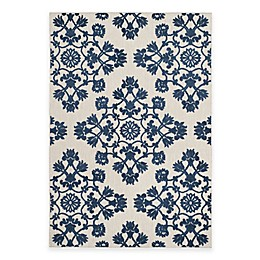 Safavieh Cottage Medallion Damask Indoor/Outdoor Rug