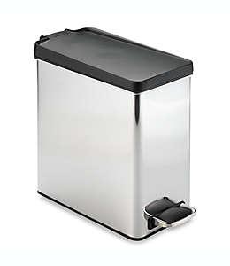 Bote de basura Simplehuman®, de acero inoxidable, 10 L