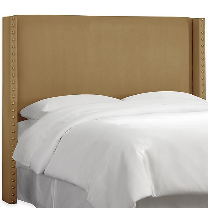 Alternate image 1 for Skyline Furniture Roosevelt Full Headboard in Regal Sand