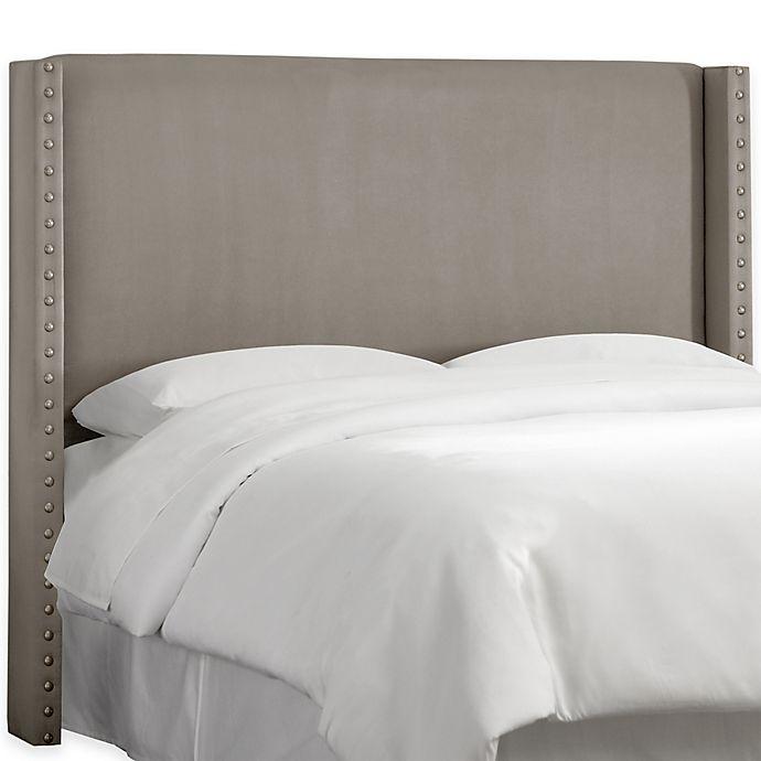 Alternate image 1 for Skyline Furniture Roosevelt Full Headboard in Regal Smoke