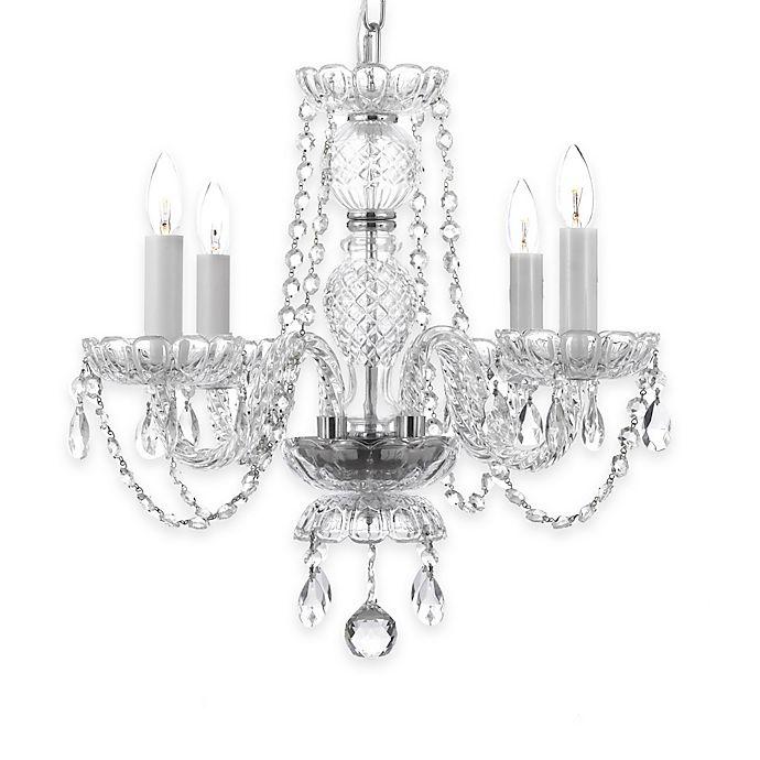 Alternate image 1 for Gallery Venetian Chandelier with Swarovski Crystals
