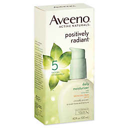 Aveeno® Positively Radiant® 4 oz. Daily Moisturizer Broad Spectrum SPF 15