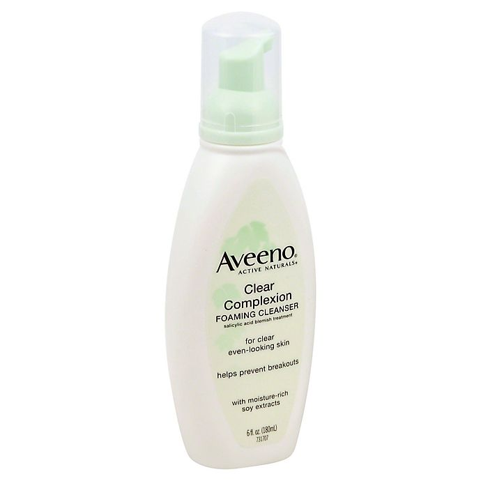 Alternate image 1 for Aveeno® 6 oz. Clear Complexion Foaming Cleanser