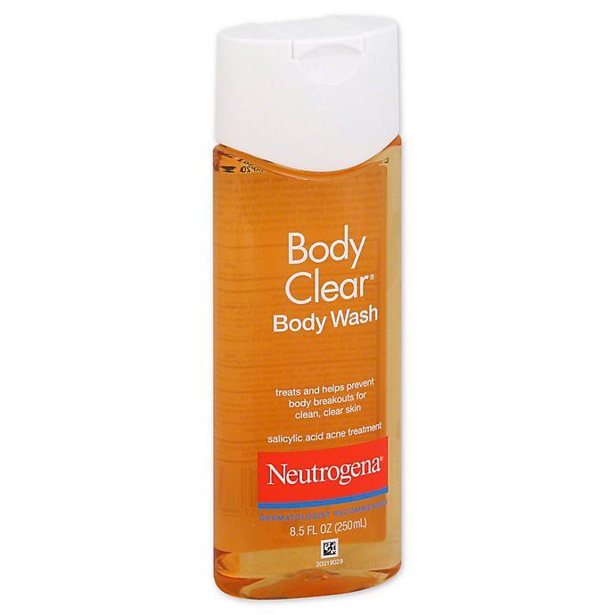 Neutrogena Body Clear 8 5 Oz Body Wash Bed Bath Beyond