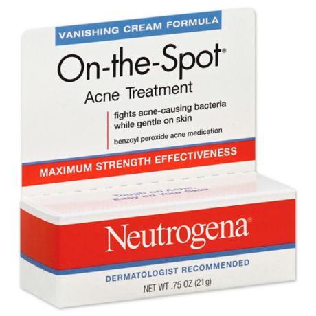 Neutrogena On The Spot 75 Oz Acne Treatment Bed Bath Beyond