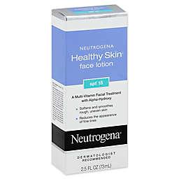 Neutrogena® Healthy Skin® 2.5 oz. Face Lotion with SPF 15