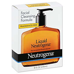 Neutrogena® Fragrance Free 8 oz. Liquid Facial Cleanser