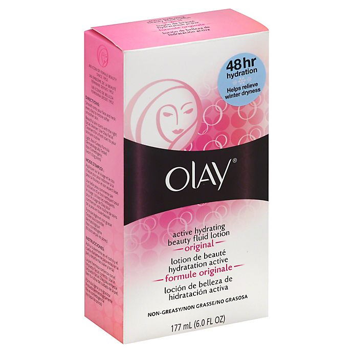 Alternate image 1 for Olay® Active Hydrating 6 fl.oz. Beauty Fluid Lotion in Original