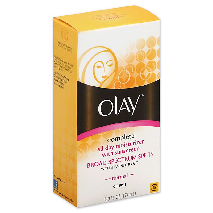 Alternate image 1 for Olay® 6 oz. Complete All Day Moisture Lotion  Broad Spectrum SPF 15 for Normal Skin