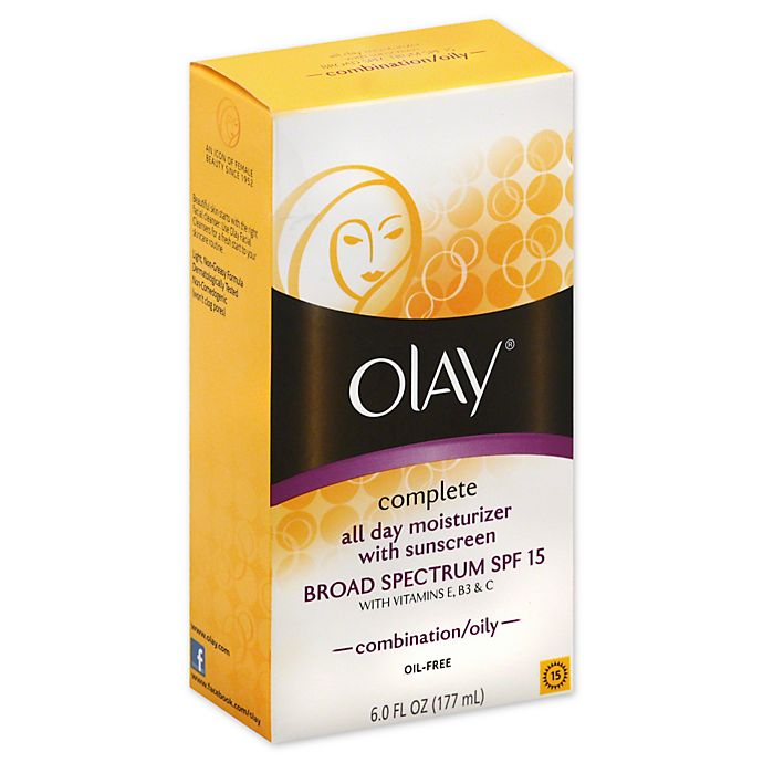 Alternate image 1 for Olay® 6 oz.Complete All Day Moisturizer Broad Spectrum SPF 15 Combination Oily
