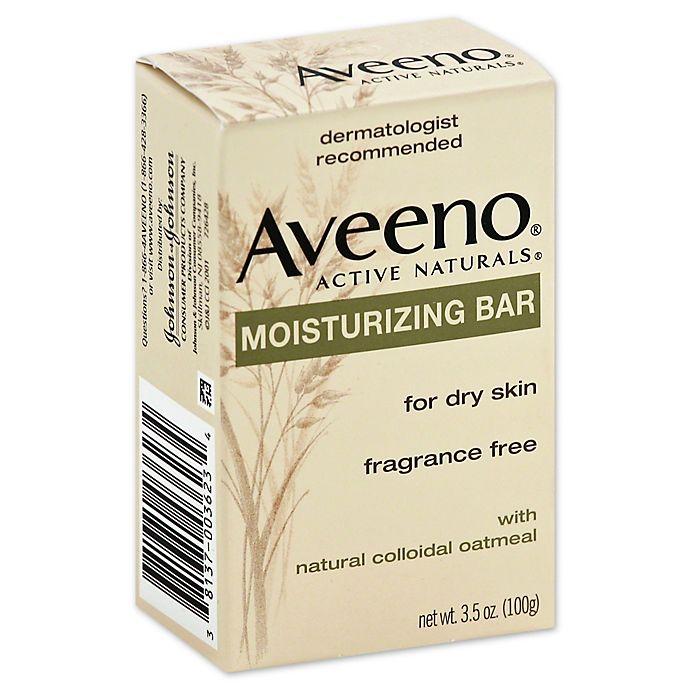 Alternate image 1 for Aveeno® Active Naturals® 3.5 oz. Moisturizing Bar