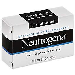 Neutrogena® 3.5 oz. Transparent Facial Bar Soap