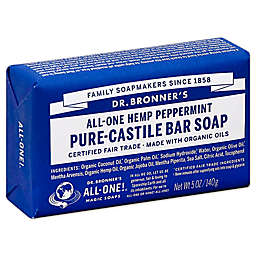 Dr. Bronner's 5 oz. Pure-Castile Bar Soap in Peppermint