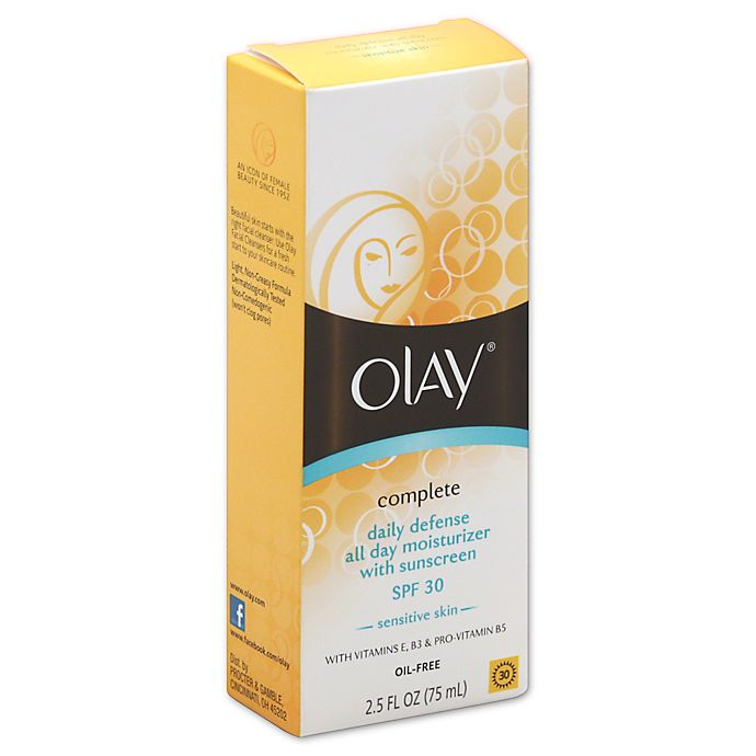 Alternate image 1 for Olay® Complete 2.5 oz. All Day Moisture Lotion with Broad Spectrum SPF 30 for Sensitive Skin