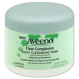 Aveeno® Active Naturals® 28-Count Clear Complexion Daily Cleansing Pads