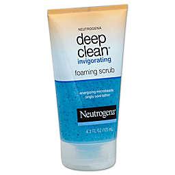 Neutrogena® 4.2 oz. Deep Clean Invigorating Foaming Scrub
