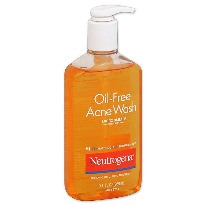Neutrogena 9 1 Oz Oil Free Acne Wash Bed Bath Beyond
