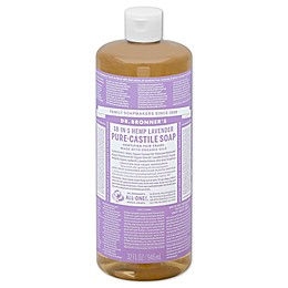 Dr Bronner's 32 oz. 18-in-1 Pure-Castile Liquid Soap in Lavender