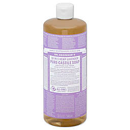Dr Bronner's 32 oz. 18-in-1 Pure-Castile Liquid Soap in Lavender