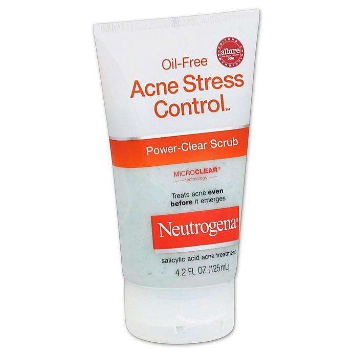 Neutrogena Oil Free Acne Stress Control 4 2 Oz Power Clear