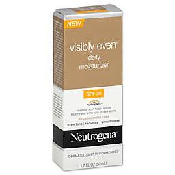 Neutrogena® Visibly Even® 1.7 oz. Daily Moisturizer Broad Spectrum SPF 30