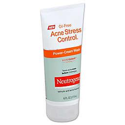 Neutrogena® Oil-Free Acne Stress Control® 6 oz. Power-Cream Wash