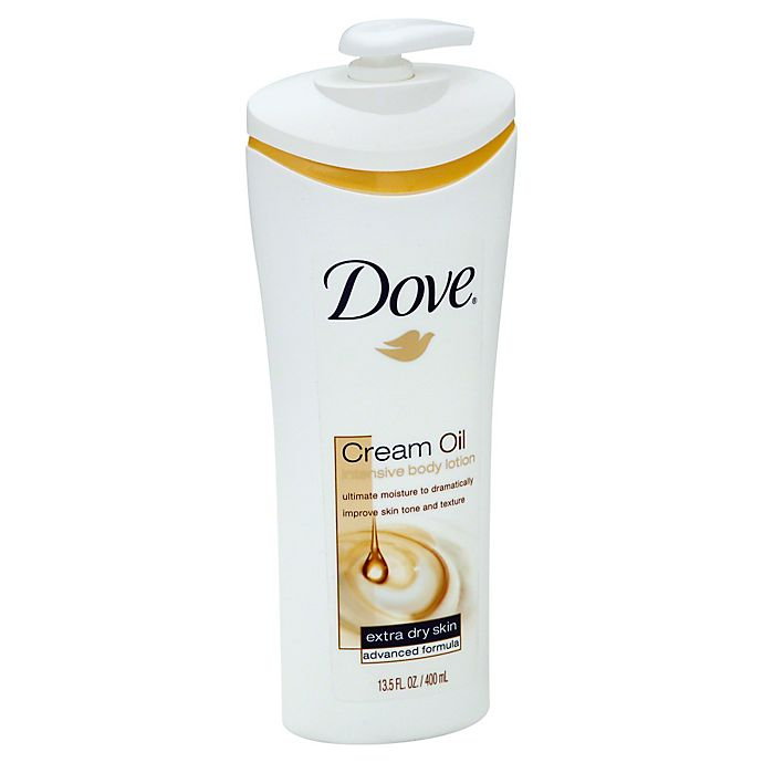 Dove 13 5 Oz Extra Dry Skin Cream Oil Intensive Body Lotion Bed Bath Beyond