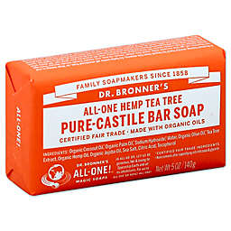 Dr. Bronner's 5 oz. Pure-Castile Bar Soap in Tea Tree