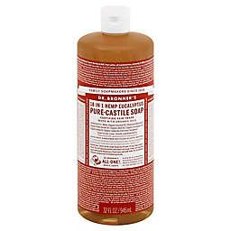 Dr Bronner's 32 oz. 18-in-1 Pure-Castile Liquid Soap in Eucalyptus