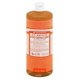 Dr Bronner's 32 oz. 18-in-1 Pure-Castile Liquid Soap in Tea Tree