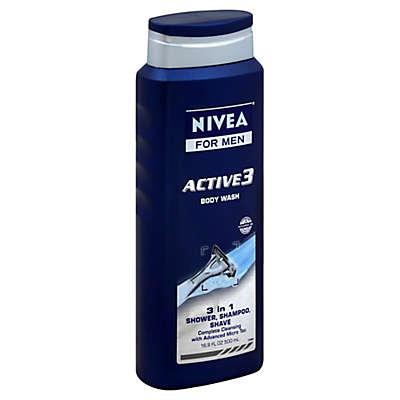 Nivea® Men 16.9 oz. Active 3 Body Wash