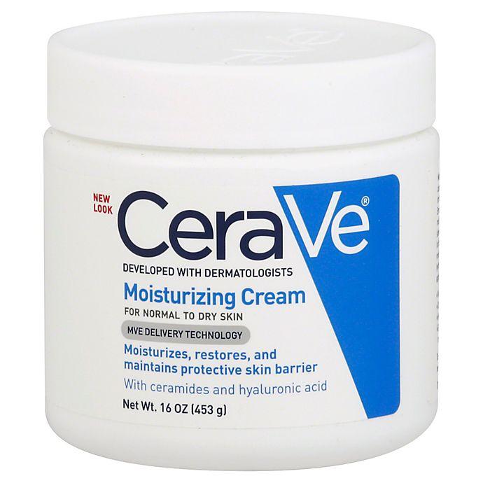 Alternate image 1 for CeraVe® 16 oz. Moisturizing Cream For Normal to Dry Skin