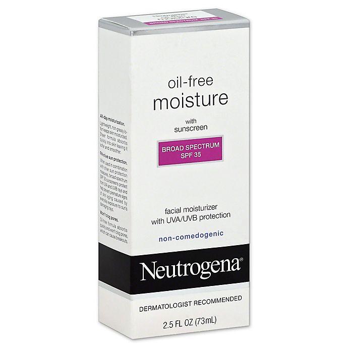 Alternate image 1 for Neutrogena® Oil-Free 2.5 oz.Facial Moisturizer withSPF 35