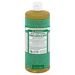 Dr Bronner's 32 oz. 18-in-1 Pure-Castile Liquid Soap in Almond