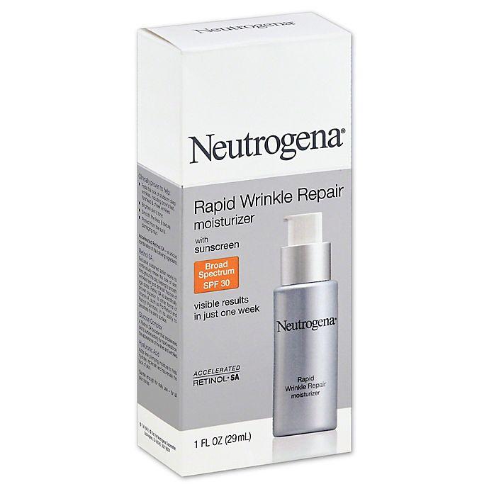 Alternate image 1 for Neutrogena® 1 oz. Rapid Wrinkle Repair Moisturizer SPF 30