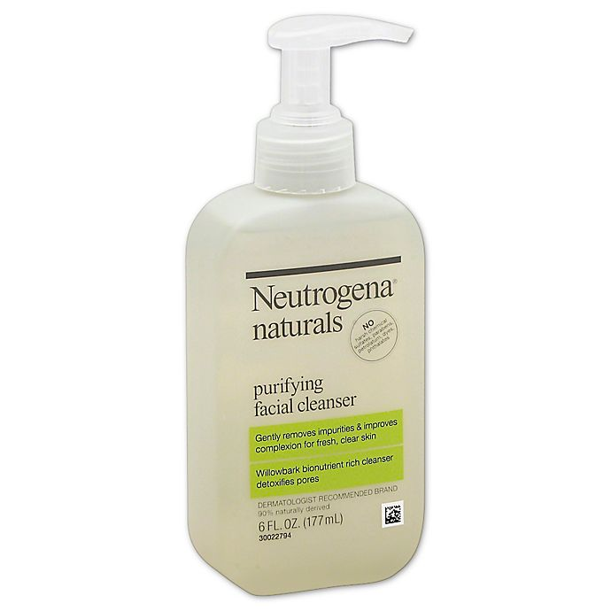 Alternate image 1 for Neutrogena® 6 oz. Naturals Purifying Facial Cleanser