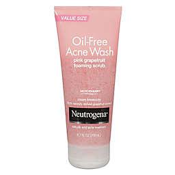 Neutrogena® 6.7 oz. Oil-Free Acne Wash Foaming Scrub in Pink Grapefruit