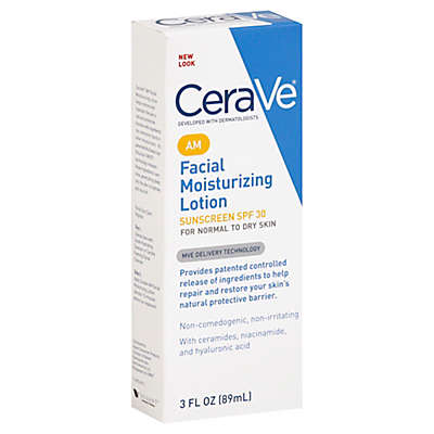 CeraVe® 3 oz. AM Facial Moisturizing Lotion SPF 30