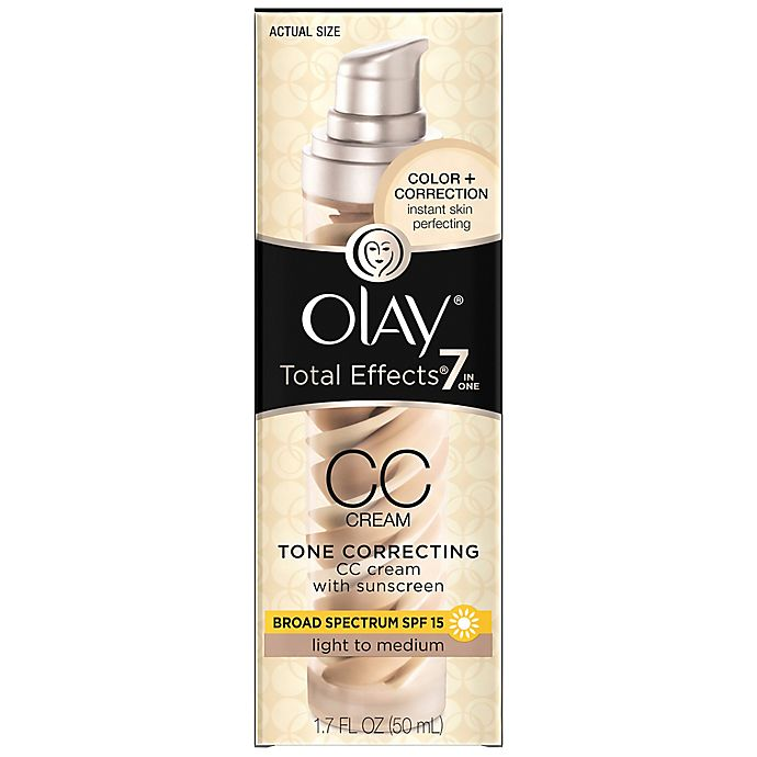 Olay® CC Cream 1 7 oz  Total Effects Tone Correcting Moisturizer SPF