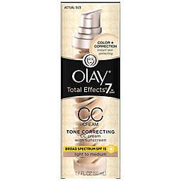 Olay® Total Effects® 1.7 fl.oz. CC Cream Moisturizer SPF 15 in Light-to-Medium