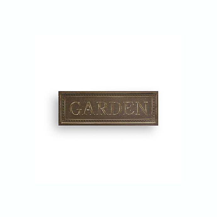 Metal Garden Plaque Bed Bath Beyond
