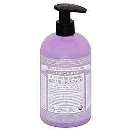 Dr. Bronners 24 oz. 4-in-1 Sugar Lavender Organic Pump Soap