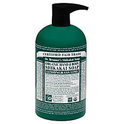 Dr. Bronner's 24 oz. 4-in-1 Organic Pump Soap in Sugar Lemongrass Lime
