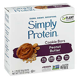 Simply Protein® 4-Pack Baked Bars in Peanut Butter Cookie