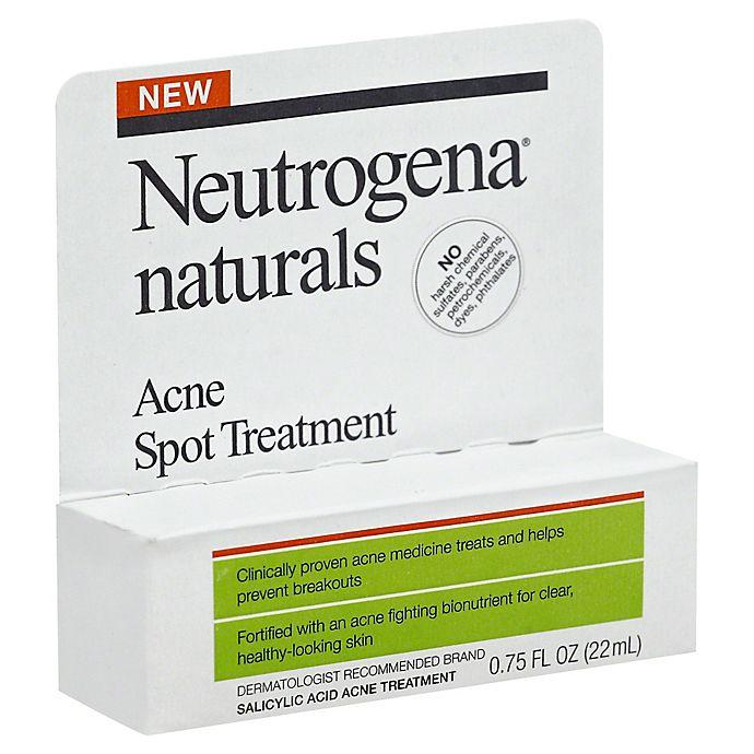 Neutrogena 75 Oz Naturals Acne Spot Treatment Bed Bath Beyond